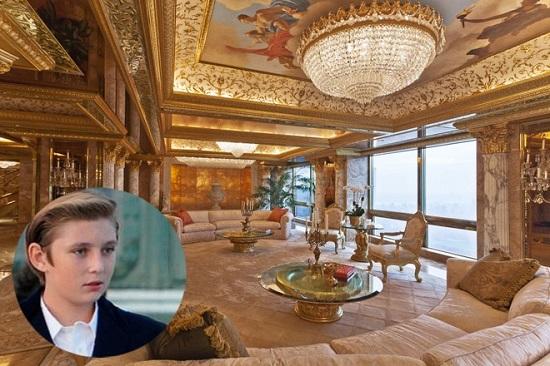 """""""Hoàng tử Nhà trắng"""" Barron Trump và cuộc sống đặc quyền của con trai tổng thống Mỹ  - Ảnh 5"""