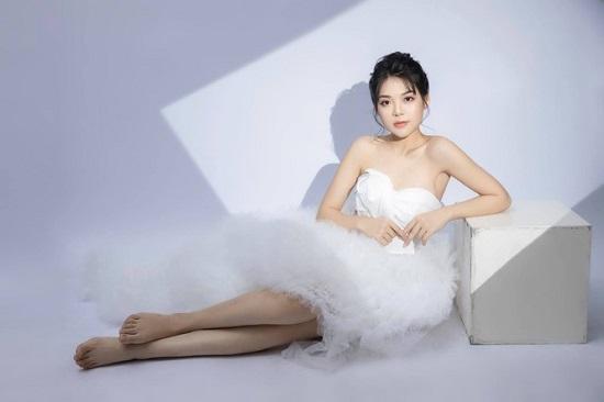 Nữ sinh người Nùng sở hữu nhan sắc trong veo thi Hoa hậu Việt Nam 2020  - Ảnh 3