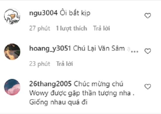 """Anh em """"Lại Văn Wowy"""" hội ngộ, đăng ảnh chụp chung như """"hai giọt nước""""  - Ảnh 3"""