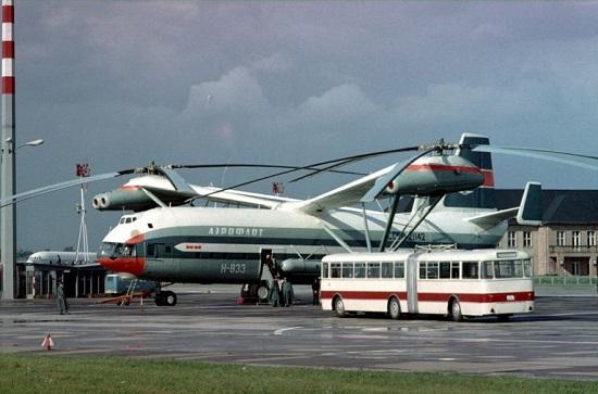 Chiêm ngưỡng trực thăng lớn nhất mọi thời đại, kỳ quan kỹ thuật của Liên Xô  - Ảnh 1
