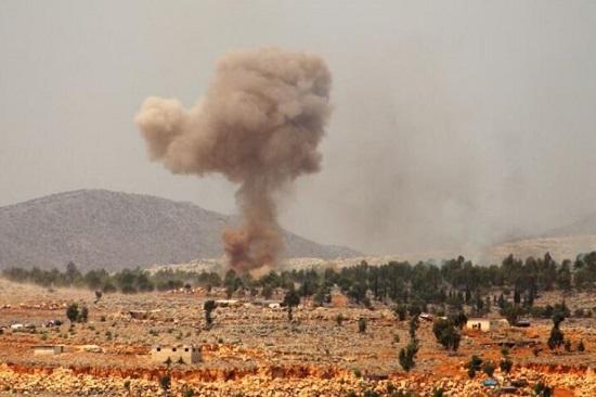 """Máy bay phản lực Nga """"dội bão lửa"""" vào cứ điểm khủng bố ở Syria  - Ảnh 1"""