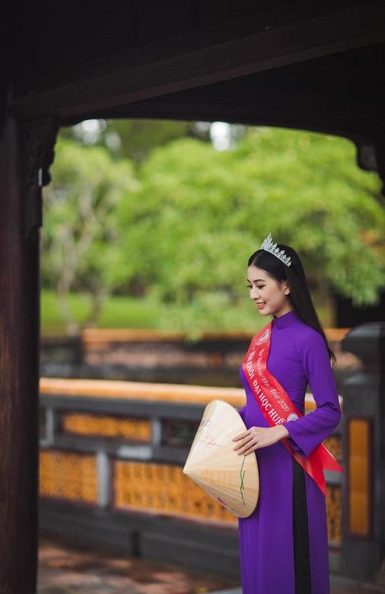 """Người đẹp Huế có thành tích học tập """"khủng"""", nhan sắc """"không phải dạng vừa"""" dự thi Hoa hậu Việt Nam 2020  - Ảnh 5"""