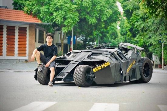 """Siêu xe batman """"tốn hơn nửa tỷ đồng"""" của nam sinh Kiến trúc khiến cộng đồng mạng chao đảo - Ảnh 3"""
