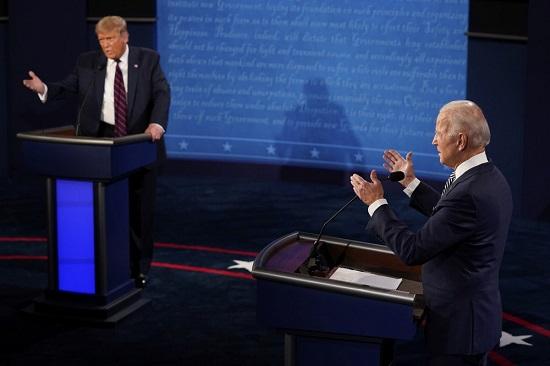 """Trump - Biden tranh cãi nảy lửa trong """"hiệp đấu"""" đầu tiên, liên tục ngắt lời đối thủ  - Ảnh 2"""