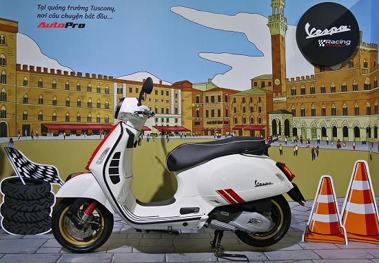 Piaggio ra mắt xe máy Vespa Racing Sixties, giá từ 94,9 triệu đồng  - Ảnh 1