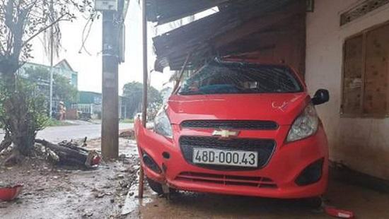 Kỷ luật thượng úy công an lái xe tông chết người ở Đắk Nông - Ảnh 1
