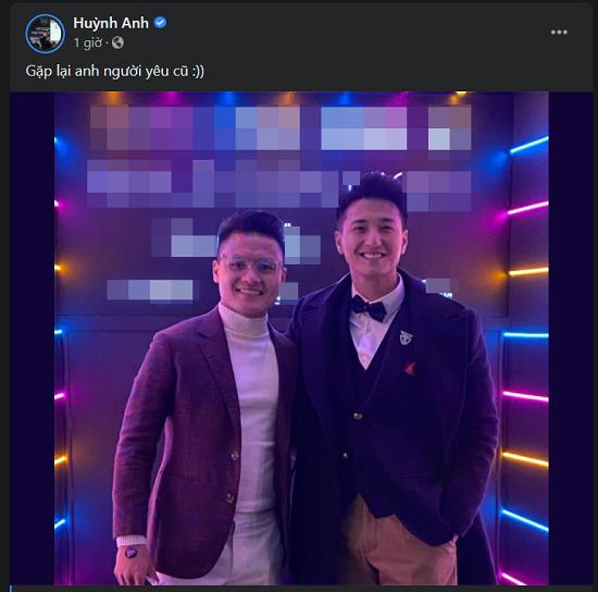 """Huỳnh Anh bất ngờ đăng ảnh thân thiết với """"người cũ"""" Quang Hải  - Ảnh 1"""
