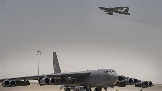 """Bộ đôi """"pháo đài bay"""" B-52 Mỹ cất cánh để """"dằn mặt"""" Iran  - Ảnh 1"""