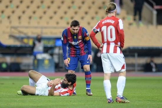 Messi lần đầu tiên bị đuổi khỏi sân trong màu áo Barcelona  - Ảnh 2