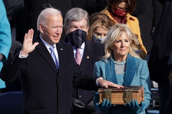 Ông Joe Biden tuyên thệ nhậm chức Tổng thống Mỹ thứ 46  - Ảnh 1