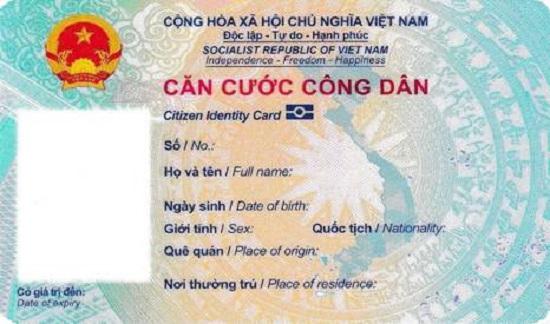 Bộ Công an chính thức quy định mẫu thẻ căn cước công dân gắn chíp - Ảnh 2