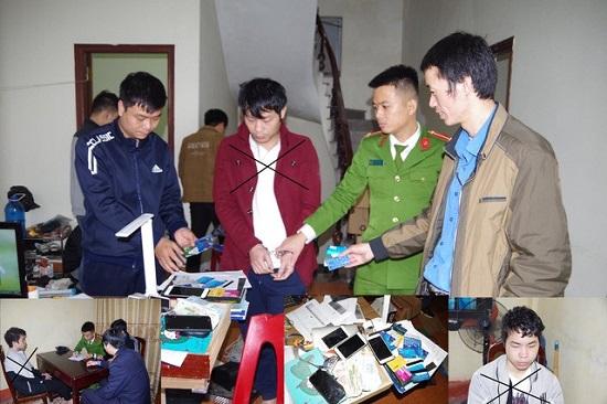 Hà Nam: Bắt 2 đối tượng tổ chức đánh bạc qua mạng internet - Ảnh 1