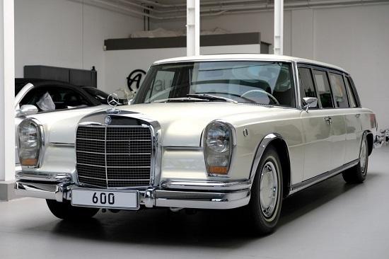 """Cận cảnh chiếc """"xe tài phiệt"""" Mercedes-Benz 600 Pullman đời 1975 - Ảnh 1"""