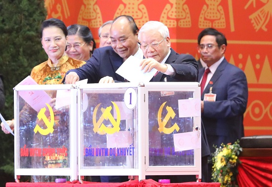 Công bố danh sách Ban Chấp hành Trung ương Đảng khóa XIII - Ảnh 1