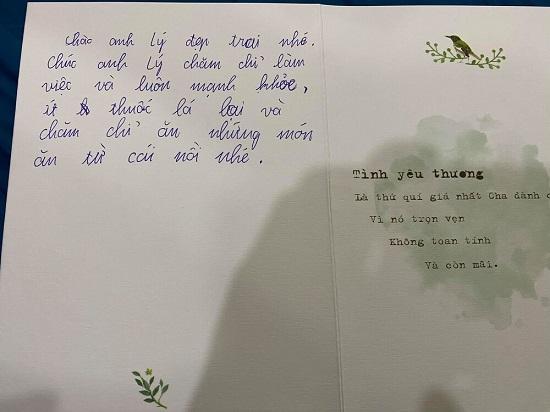 """NSND Công Lý tiết lộ """"tâm thư"""" xúc động từ con trai trong ngày cưới của bố  - Ảnh 2"""