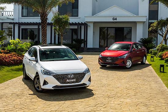 Bảng giá xe ô tô Huyndai mới nhất tháng 1/2021: Mẫu sedan Accent 2021 giữ nguyên giá bán 426,1 triệu đồng - Ảnh 1