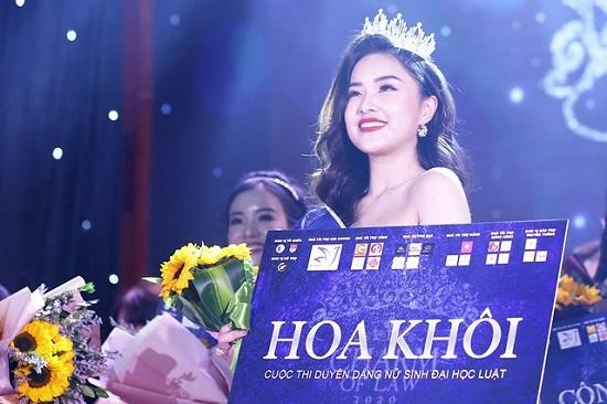 """Ngắm nhan sắc đẹp """"mê hồn"""" của nữ sinh 19 tuổi đăng quang Hoa khôi Đại học Luật Hà Nội - Ảnh 2"""