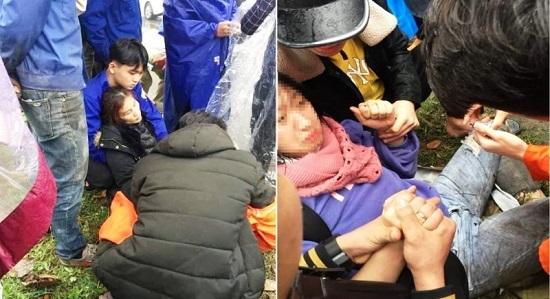Nghệ An: Nghi vấn 2 mẹ con bị đánh thuốc mê, nằm gục bên vệ đường  - Ảnh 1