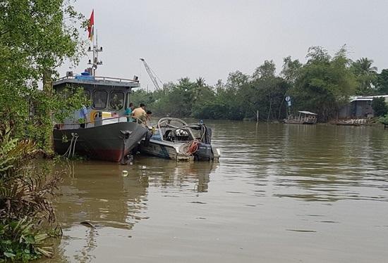 Vĩnh Long: Tìm thấy thi thể cảnh sát giao thông bị nước cuốn trên sông - Ảnh 1