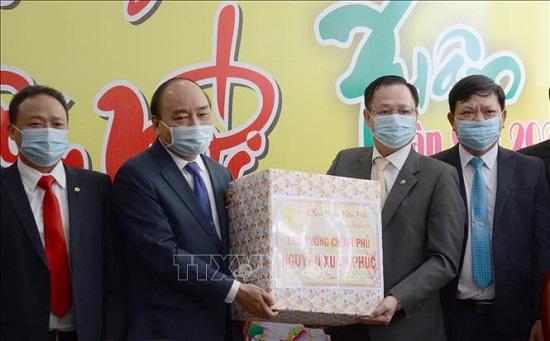 Thủ tướng Nguyễn Xuân Phúc thăm, chúc Tết tại Đà Nẵng - Ảnh 5