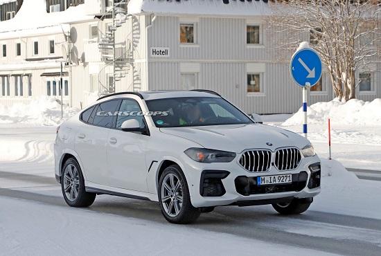 """Hé lộ nội thất """"xịn xò"""" của BMW X6 mới, màn hình kép lớn và cong như trong rạp phim - Ảnh 1"""
