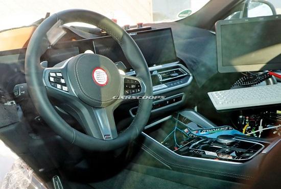 """Hé lộ nội thất """"xịn xò"""" của BMW X6 mới, màn hình kép lớn và cong như trong rạp phim - Ảnh 4"""