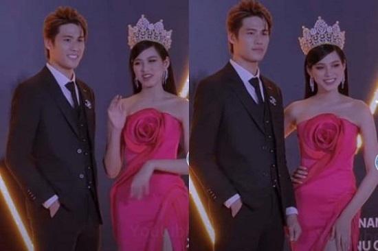 """Chân dung """"chàng trai may mắn"""" được ôm eo Hoa hậu Đỗ Thị Hà chụp ảnh tình tứ  - Ảnh 2"""