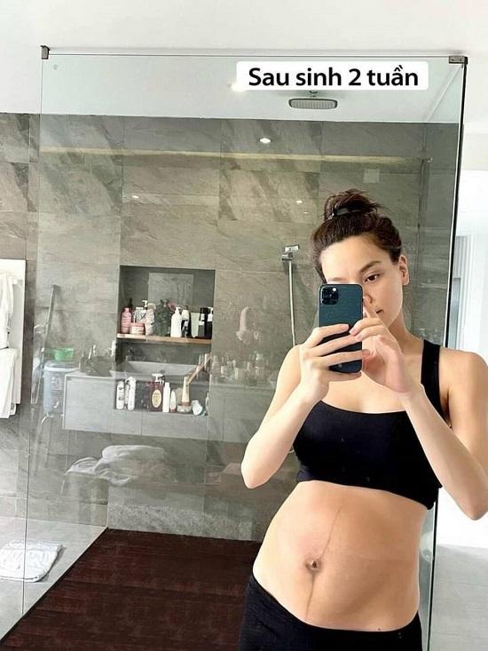 Hồ Ngọc Hà lần đầu khoe cận bụng bầu sau sinh, chỉ mất 3 tháng lấy lại vóc dáng khiến ai cũng trầm trồ - Ảnh 2