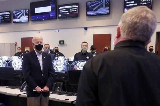Tổng thống Biden đến thăm Texas sau cơn bão tuyết mùa đông lịch sử  - Ảnh 1