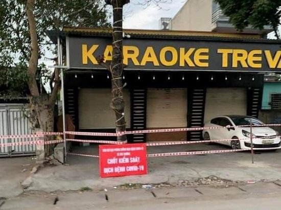 Hải Dương tìm người đến 12 quán karaoke liên quan đến 13 ca mắc COVID-19 - Ảnh 1