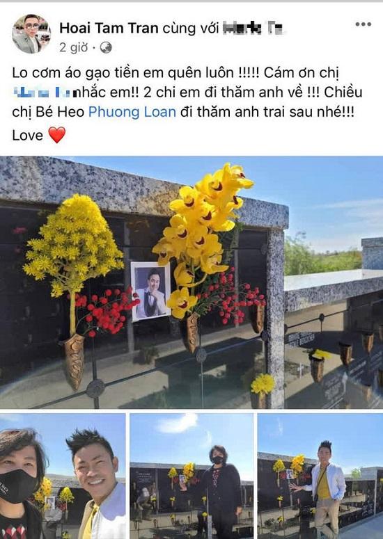 """Vợ cố nghệ sĩ Chí Tài viết """"vỏn vẹn"""" 4 chữ gây xúc động để tưởng nhớ 100 ngày chồng mất  - Ảnh 4"""