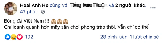 """Hồ Hoài Anh gọi bóng đá Việt Nam là """"sân chơi phong trào"""", Hoàng Bách lập tức phản biện  - Ảnh 2"""
