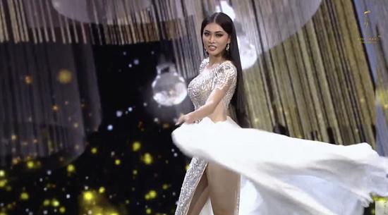 """Ngọc Thảo bị chê """"diễn lố"""" với màn trình diễn tại bán kết Miss Grand International 2020 - Ảnh 2"""