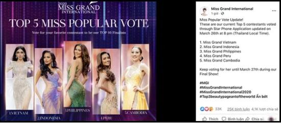 Tin tức giải trí mới nhất ngày 27/3: Á hậu Ngọc Thảo có thành tích đặc biệt tại Miss Grand International 2020 - Ảnh 1