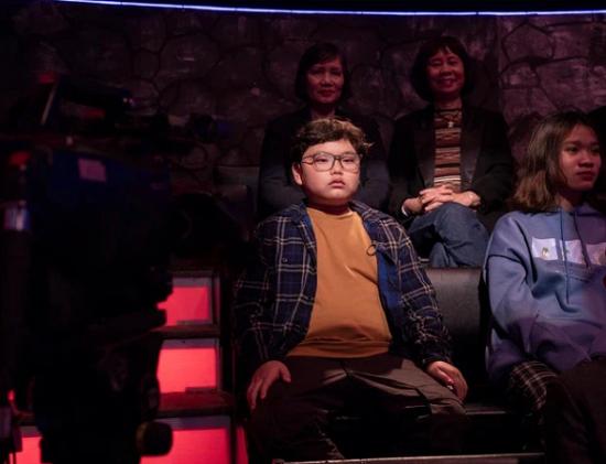 """""""Cười ngất"""" với màn đối thoại hài hước của Bi béo và bố Xuân Bắc tại """"Ai là triệu phú""""  - Ảnh 1"""