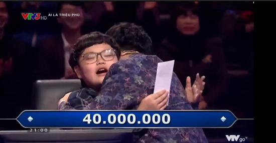 """""""Cười ngất"""" với màn đối thoại hài hước của Bi béo và bố Xuân Bắc tại """"Ai là triệu phú""""  - Ảnh 2"""