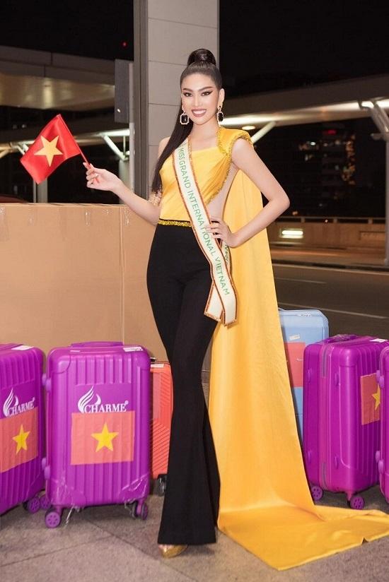 Á hậu Ngọc Thảo gây tranh cãi trong clip nói tiếng Anh tại cuộc thi Miss Grand International 2020 - Ảnh 1