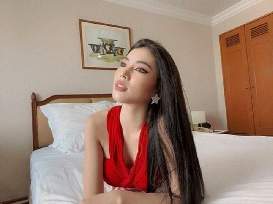 Á hậu Ngọc Thảo gây tranh cãi trong clip nói tiếng Anh tại cuộc thi Miss Grand International 2020 - Ảnh 2