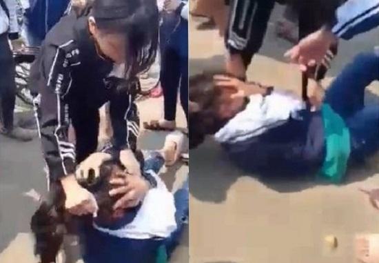 Nữ sinh Hà Nội bị đánh hội đồng vì tin nhắn qua lại trên Facebook  - Ảnh 1