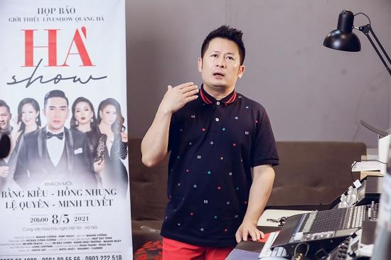 Bằng Kiều thể hiện sự nể phục với Quang Hà, đệm đàn guitar cho đàn em hát  - Ảnh 2
