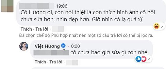 """Việt Hương lộ nhan sắc khác lạ, lên tiếng đáp trả khi vướng nghi vấn """"đụng chạm dao kéo""""  - Ảnh 3"""