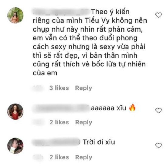 Hoa hậu Tiểu Vy liên tục
