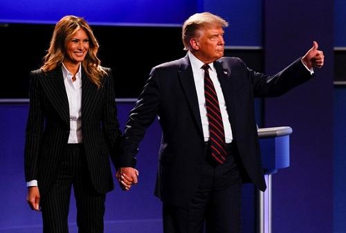 Tổng thống Trump và vợ dương tính với COVID-19 - Ảnh 1