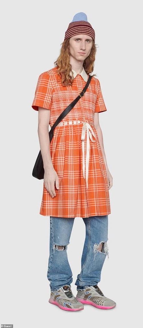 Gucci ra mắt mẫu váy dành riêng cho nam giới, giá lên tới hơn 50 triệu đồng - Ảnh 1