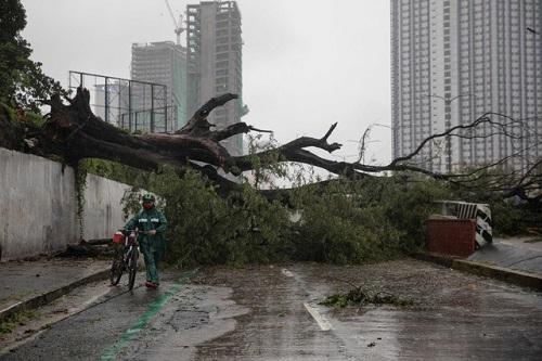"""Bão Vamco """"càn quét"""" qua Philippines, ít nhất một người thiệt mạng - Ảnh 1"""