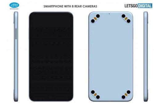 Tin tức công nghệ mới nóng nhất hôm nay 15/11: Xuất hiện bằng sáng chế smartphone có 8 camera sau - Ảnh 1