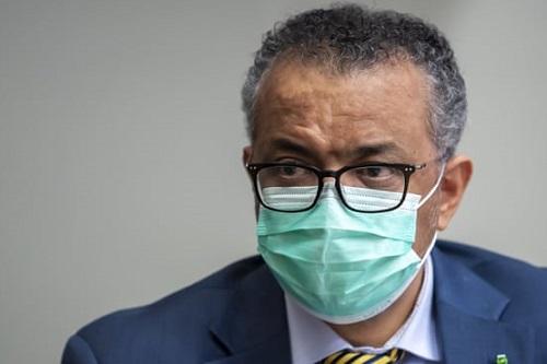 Tổng giám đốc WHO tự cách ly vì tiếp xúc với người nhiễm COVID-19 - Ảnh 1