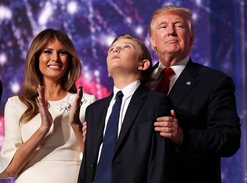 """Loạt ảnh """"Hoàng tử Nhà Trắng"""" Barron Trump, xứng danh """"tiểu soái ca"""" - Ảnh 4"""