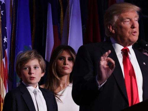 """Loạt ảnh """"Hoàng tử Nhà Trắng"""" Barron Trump, xứng danh """"tiểu soái ca"""" - Ảnh 5"""