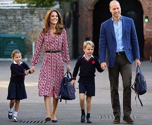 Hoàng tử, công chúa nhỏ nhà Công nương Kate được xưng hô ra sao khi tới trường? - Ảnh 1